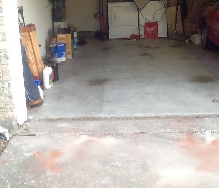 Garage Door Clean up After