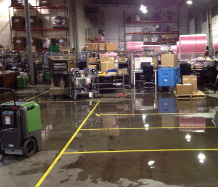 Warehouse Water  Before